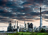 Oil refinery Immingham Lincolnshire - Stock Image - C8W11D