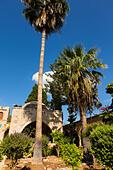 Courtyard of Ayia Napa Monastery, Cyprus - Stock Image - ED87CR