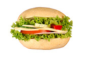 Sandwich - Stock Image - B219A3