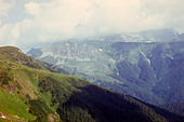 Western Caucasus Mountains in Abkhazia, year 1982 - Stock Image - D2P33G