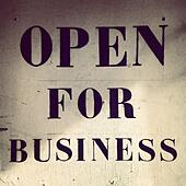 Open for business - Stock Image - S01N72