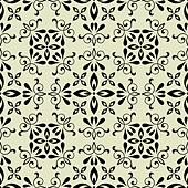 art vector seamless vintage pattern background - Stock Image - DNP8A5