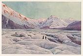 Tasman Glacier - Stock Image - A67RN2