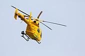 Lincs and Notts air ambulance - Stock Image - DDJERN