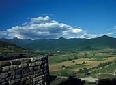 View of the Pankisi Gorge Georgia - Stock Image - AG383E