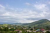 Caucasus mountains village, Tsandripsh, Abkhazia - Stock Image - EA39W1