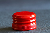Wine screw cap - Stock Image - C0W381