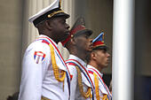 Washington, D.C, USA. 20th July, 2015. Cuban officials and hundreds of people attend the inauguration of the Cuban Embassy only two miles away from the White House. © Oliver Contreras/ZUMA Wire/Alamy Live News - Stock Image - EY2HMT