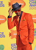 LOS ANGELES, CA - MARCH 28, 2015: Nick Cannon at the 2015 Kids Choice Awards at The Forum, Los Angeles.  EDITORIAL USE ONLY. © J - Stock Image - EM9RK1