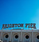 Brighton Pier, Brighton, England - Stock Image - AAE96W