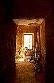 light warm yellow Stone Town inside - Stock Image - B0Y70F