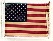 an americam flag (sharp) - Stock Image - B53AGK