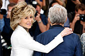Jane Fonda during the 'Youth' photocall at the 68th Cannes Film Festival on May 20, 2015/picture alliance - Stock Image - EPPR5Y