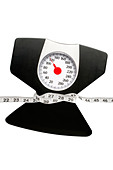 weight scale - Stock Image - BHN1C8
