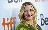 """Toronto, Canada. 13th Sep, 2014. Actress Kate Winslet attends the premiere of film """"A Little Chaos"""" during the 2014 Toronto International Film Festival in Toronto, Canada, on Sept. 13, 2014. © Zou Zheng/Xinhua/Alamy Live News - Stock Image - E7CM91"""