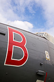Avro Shackleton MR3/3, WR977 at Newark Air Museum - Stock Image - D89HW6