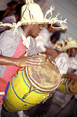 music beats Cuba Camaguey - Stock Image - AM47D0