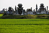 Buddhist graveyard Hue, Vietnam - Stock Image - C98RYR