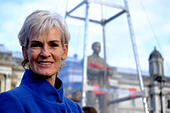 London, UK. 7th November, 2014. Royal British Legion unveil the Every Man Remembered Sculpture made by Mark Humphrey .  The unveiling is attended by Judy Murray and Serena Alexander © Rachel Megawhat/Alamy Live News - Stock Image - EA5FX8