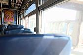 Empty seats on bus - Stock Image - CTYXRK