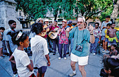 Dancing in the Street - Stock Image - DGAHEN