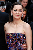 Cannes, France. 23rd May, 2015. Marion Cotillard attending the 'Macbeth' premiere at the 68th Cannes Film Festival on May 23, 2015 © dpa picture alliance/Alamy Live News - Stock Image - ER0Y3G