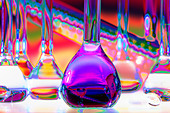 Chemical Glassware - Stock Image - CBAMT5