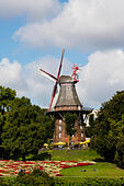 Windmill Am Wall. The last surviving windmill of 8 in Bremen Germany - Stock Image - E6RB5B