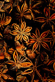 Star anise spice - Stock Image - D6HC2D