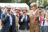 London, UK. 11th July, 2015. The Chap Olympiad 2015 © Guy Corbishley/Alamy Live News - Stock Image - EXCBK1