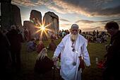 Avebury, UK. 21st June, 2015. Summer Solstice at Stonehenge © Guy Corbishley/Alamy Live News - Stock Image - EWABJ0