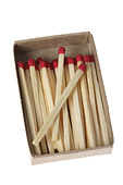Box of Matches - Stock Image - A417JX
