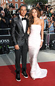London, UK, 2nd September 2014: Lewis Hamilton and Nicole Scherzinger attend the GQ Men of the Year awards at The Royal Opera House in London, UK. © SimonJames/WFPA/Alamy Live News - Stock Image - E70JNK