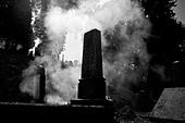 Transilvania, Romania . Sighisoara. Cemetery - Stock Image - BREHJP