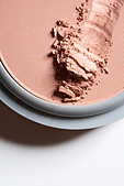 Close up of cosmetic foundation - Stock Image - B679DN