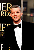 London, UK. 12th Apr, 2015. Rssell Tovey  attend the Olivier Awards 2015 at The Royal Opera House Covent Garden  London 12th April 2015 © Peter Phillips/Alamy Live News - Stock Image - EKN99F