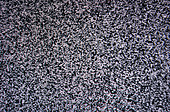 black and white TV screen noise texture pattern background - Stock Image - C3G6CY