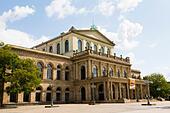 """Staatsoper"" opera house, Hanocver, Germany - Stock Image - E6W2B1"