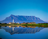 Table Mountain Cape Town Western Cape Province South Africa - Stock Image - A72923