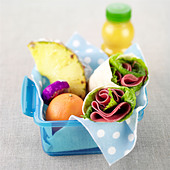 Lunch Box/ wraps - Stock Image - BY41GM