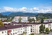 Cityscape, Sukhumi, Abkhazia - Stock Image - EA3AJ0