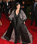New York, , USA. 4th May, 2015. LADY GAGA attends the Costume Institute Benefit gala celebrating the opening of the new exhibit of 'China: Through the Looking Glass' held at the Metropolitan Museum of Art. © Nancy Kaszerman/ZUMAPRESS.com/Alamy Live News - Stock Image - ENFNBG