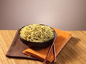 pasta bowl - Stock Image - D9WT5N