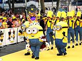 London, UK. 11th June, 2015. Minions attending the World Premiere of MINIONS at the Odeon  London 11th June 2015 © Peter Phillips/Alamy Live News - Stock Image - ET58PP