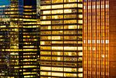 Skyscrapers in Midtown Manhattan, New York City - Stock Image - BPKKFB