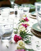 Table decoration - Stock Image - BX3E2J