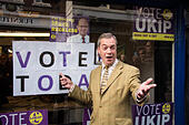 Nigel Farage MEP - Stock Image - EARFW4