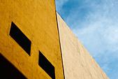 Building facade, cropped - Stock Image - C1T414