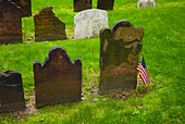 Cemetery at Saint Paul's Church - Stock Image - BNWX2N