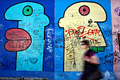 Berlin Wall Germany - Stock Image - BBR0CE